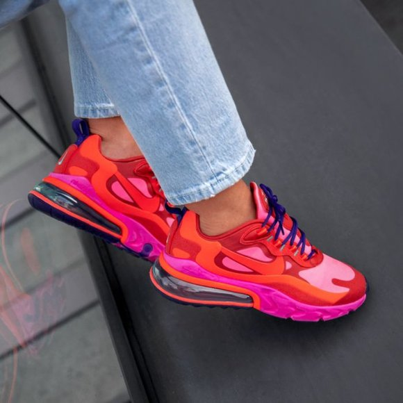 Nike Shoes Air Max 270 React Sneakers Mystic Red Pink 6 Poshmark